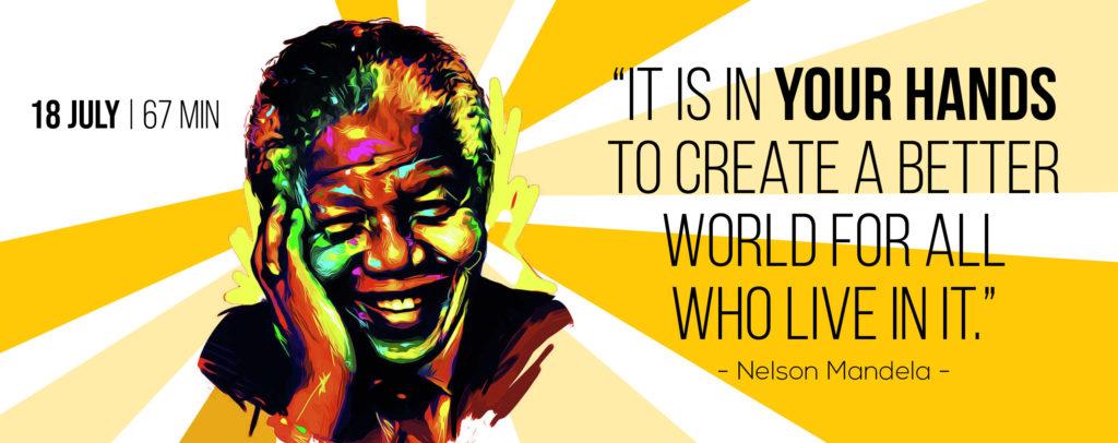 Mandela Day Website Banner