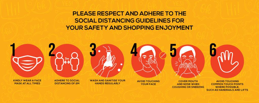 Precautions Website Banner